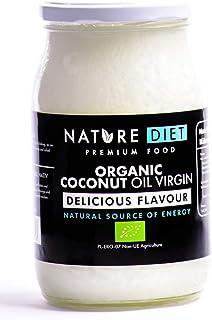 Nature Diet - Aceite de coco virgen bio, 1000 g