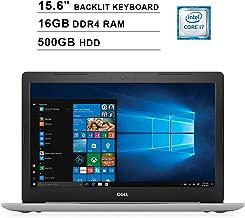 2019 Dell Inspiron 15 5570 15.6 Inch FHD Touchscreen Laptop (Intel Quad-Core i7-8550U?up to 4.0 GHz, 16GB RAM, 500GB HDD, Backlit KB, DVD, Bluetooth, WiFi, HDMI, Windows 10, Sliver) (Renewed)