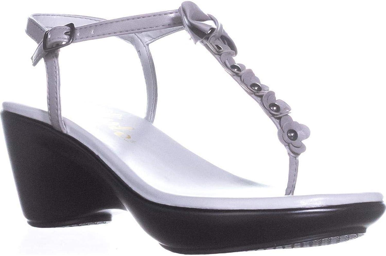 Callisto Womens Laureen Open Toe Casual Ankle Strap Sandals
