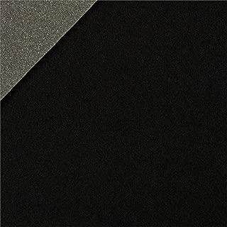 Plastex Fabrics Foam-Backed Automotive Headliner Black Fabric By The Yard