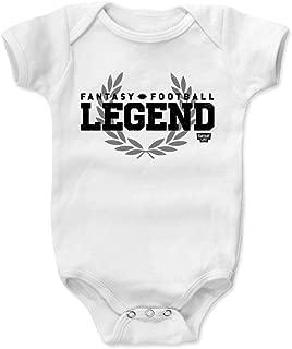 Fantasy Football Baby Clothes & Onesie (3-6, 6-12, 12-18, 18-24 Months) - Fantasy Football Legend Bold