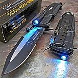Best Get Tac Force Tac Force Folding Knives - TAC-FORCE Open LED Light EMT EMS Folding Pocket Review