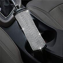 LIEWOOD Bling Rhinestones Crystal Car Cover Belt تسمه شانه پد شانه اتومبیل تعویض دنده دستی ترمز دستی لوازم داخلی (جلد ترمز دستی)