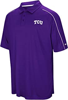 TCU Horned Frogs NCAA Setter Men's Performance Polo Shirt