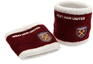 West Ham United FC Official Wristbands (Set Of 2)
