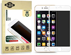 Privacy Screen Protector IPhone 7 And 8 Display Compatible. Extremely Durable Anti Spy Tempered Glass, Full Screen Cover, No Fingerprint, No Dust, No Bubbles. Highly Transparent No Scratch Film, New 2020 Design By SmartGLASS