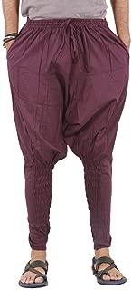 Harem Pants Mens Womens Yoga Cotton Boho Hippie Wide Leg Pants - Ninja Style