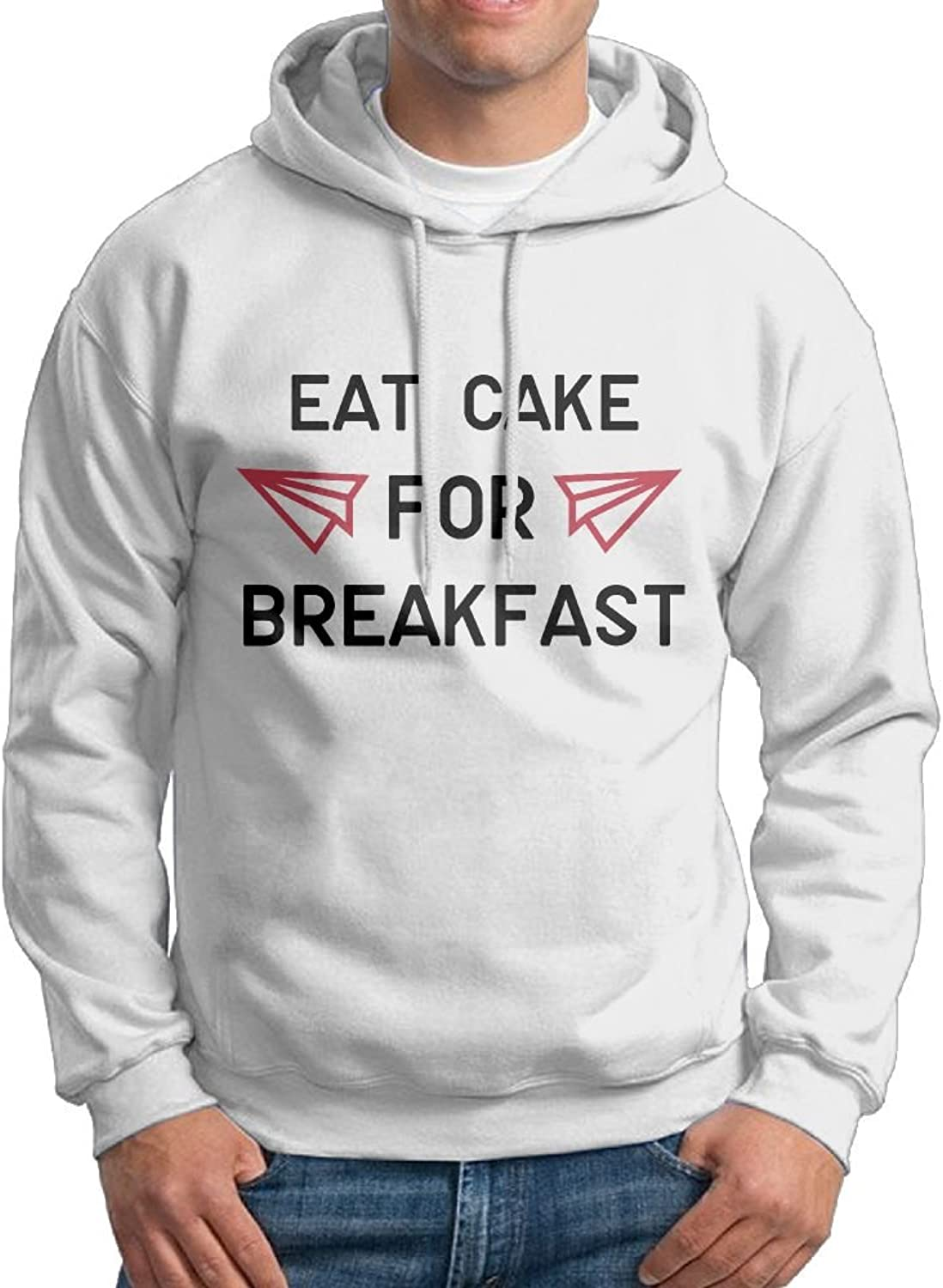 - - - Eat Cake For Breakfast Man Cotton Suit Sweatershirt bb052c