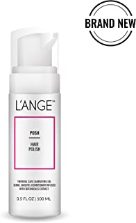 L'ange Hair POSH Hair Polish - Paraben Free Finishing Gloss Foam - Growth Stimulator & Thermal Protectant - Smooth & Shine Styling Products - Laminating Gel for All Hair Types, 3.5 Fl.Oz, MSRP $22.00