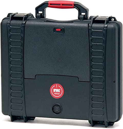 HPRC 2580ADV Hardcase (TX01 Material, 11 Liter Volumen, mit Laptop Kit System) Schwarz