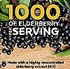 Elderberry, Vitamin C, Zinc, Vitamin D 5000 IU & Ginger Immune Support Supplement, 2 Month Supply (120 Capsules) - 5 in 1 Daily Immune Support for Adu... #3