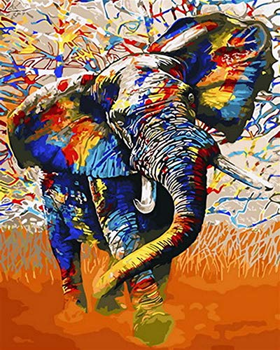 YDPTYANG Adultos Madera Puzzle 1000 Piezas Animales Elefante Colorido Niños Juego Clásico Ocio Arte Toys Puzzles