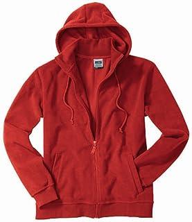 James & Nicholson JN189 Micro Fleece Hooded Jacket Fleece