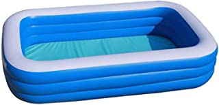 Inflatable Swimming Pool, Family Full-Sized Inflatable Pools Thickened Family Lounge Pool for Toddlers, Kids & Adults Over...