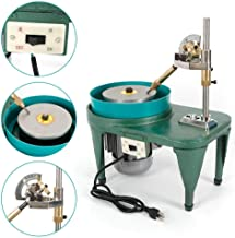 RanBB Gem Faceting Machine, 110V Jewelry Polisher Jade Flat Grinder 2800RPM
