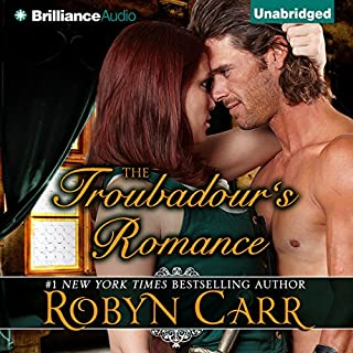 The Troubadour's Romance audiobook cover art