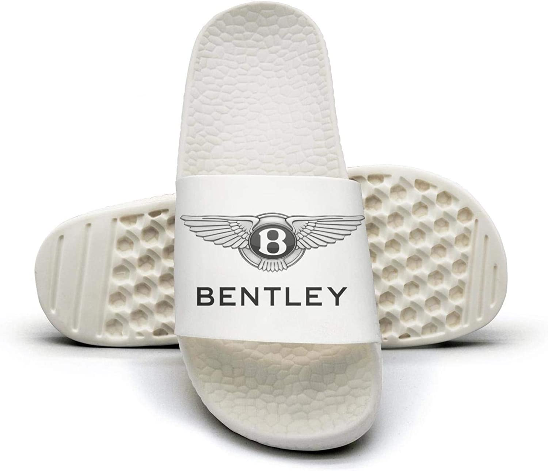 EIGKASL Printed Non-Slip Slippers Slide flip Flop Sandals Bentley-Logo-Symbol-Summer Indoors for Womens