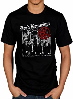 Official Dead Kennedys Tour T-Shirt Album Frankenchrist Music Bedtime Democracy
