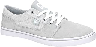 DC Women's Tonik W Se J Shoe LGY Light Grey Leather Sneakers-7 UK/India (40.5 EU) (3613373275042)