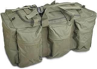 90L Large GREEN Travel Hiking Camping Military Tactical Backpack Rucksack Luggage Bag