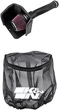 K&N 63-9039 Performance Air Intake System with Black Air Filter Wrap