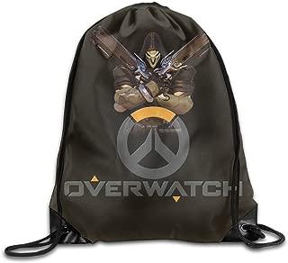 Bieshabi Overwatch Drawstring Backpacks Sack Bag/Bags