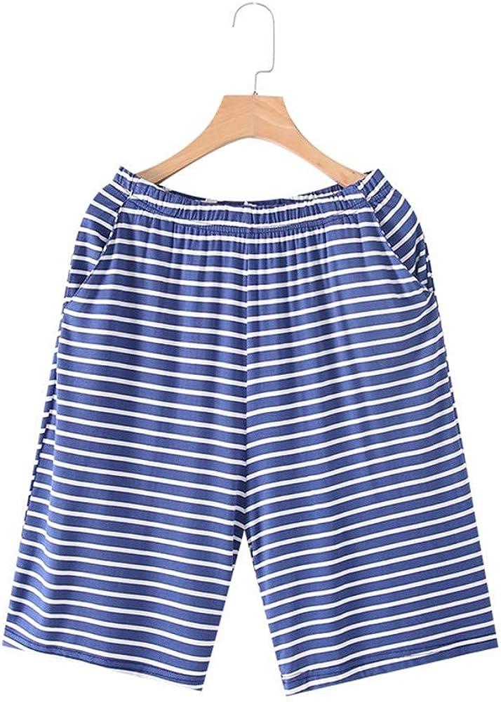 No/Brand Shorts Men's Casual Pants Loose Shorts Fashion Comfortable Homewear with Pockets