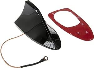 Antena tiburón techo de coche base del pie universal radio FM AM juego negro