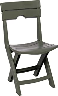 Adams Manufacturing 8575-01-3700 Quik-Fold Chair, Sage