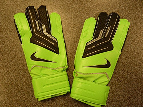 Nike GK Match Unisex Handschuhe, grün/schwarz (neo lime/black), 45