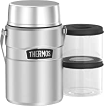 Thermos Stainless King Big Boss Vacuum Insulated Food Jar, Stainless Steel, SK3030ST4AUS