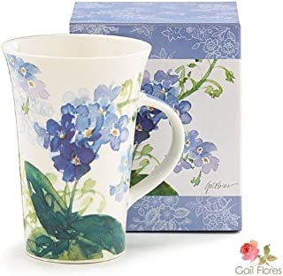 forget me not bone china