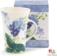 Forget Me Nots Blue Floral Coffee Mug