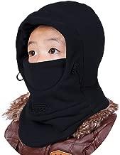 Amorar Cagoules Chapeau Polaire Capuchon Masque Facial Sports De Plein Air V/élo Moto Masque Unisexe Sports Balaclava Ski Masque Masque dhiver Bonnet en Laine
