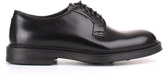 Luxury Fashion | Doucal's Men DU1385BRUGUF007NN00 Black Leather Lace-up Shoes | Autumn-winter 19