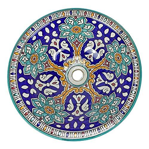 Waschbecken Marokkanische Waschbecken Durchmesser 40 cm