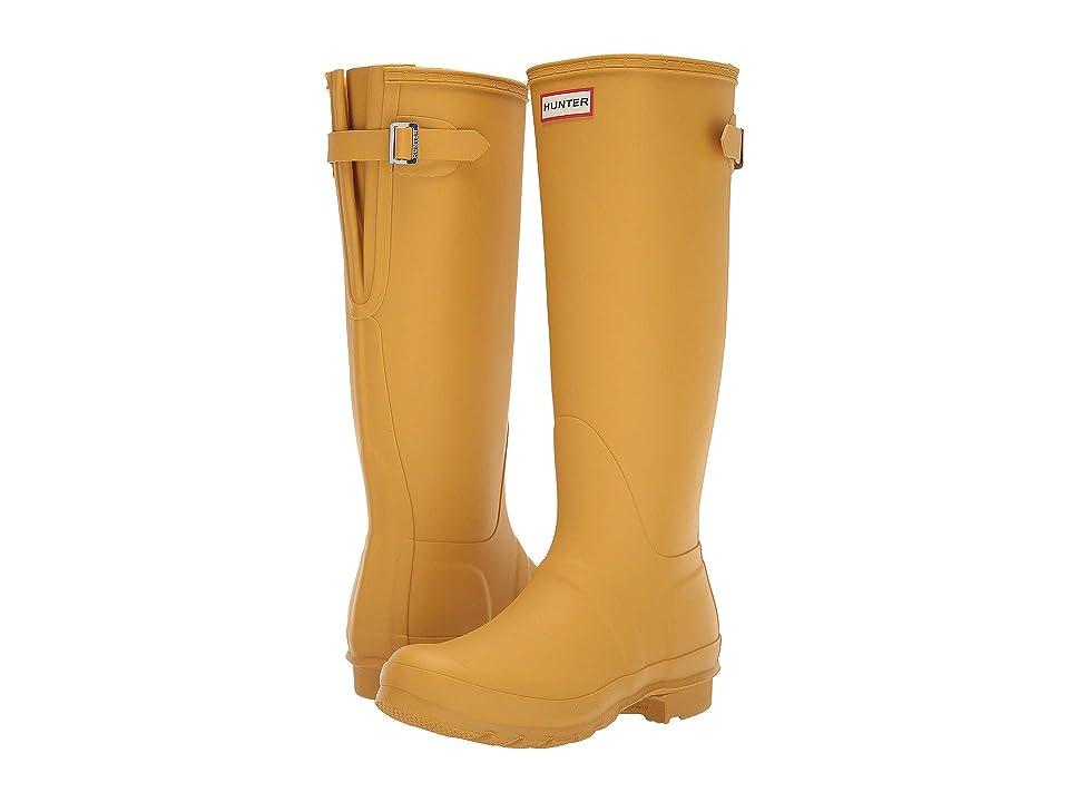 Hunter Original Back Adjustable Rain Boots (Fennel Seed) Women