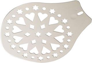 tortenschablone Westmark Kuchen- und Tortenheber, Verzierschablone, Durchmesser: 28,2 cm, Kunststoff, Weiß, 31412270