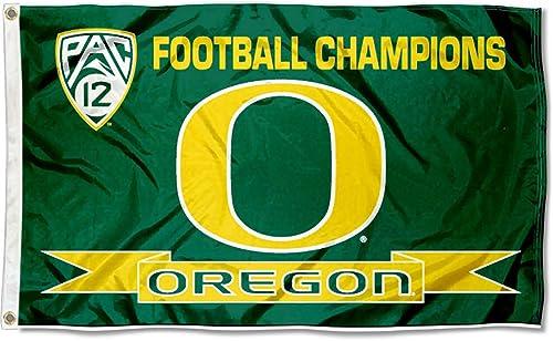 Oregon canards Pac 12Champions Drapeau