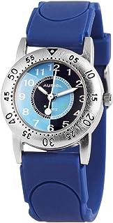 Reloj de Pulsera para niños (analógico, Metal, Silicona, Cuarzo), Color Azul