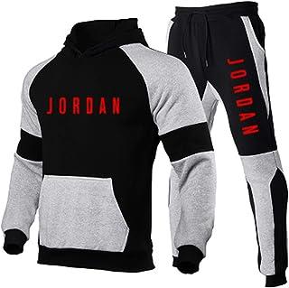 Pantaloni Tuta Uomo E Tuta Uomo, Jordan Tuta Uomo Completa, Moda Tuta Uomo Cotone Felpato (s-3xl)
