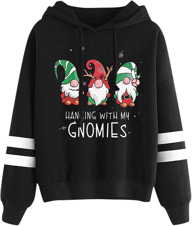 Hemlock Teen Girls Hoodies Print Hood 100% quality warranty Sweatshirts Xmas Christmas Albuquerque Mall