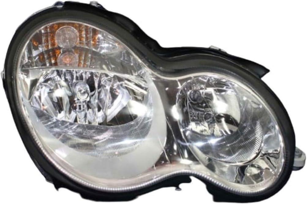 正規品スーパーSALE×店内全品キャンペーン マート For Mercedes-Benz C230 Headlight 2005-2007 Passenger Side Door 4