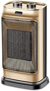 XHRHao Calentador De La Plaza 3 Niveles De Temperatura Ajustables Modelos PTC Calefacción Termostato Mecánico Radiador Calentador Hogar Actual Regalo De La Oficina (Color : Oro)