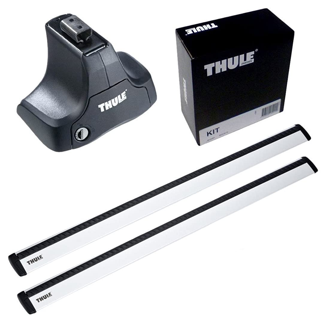 サイバースペースワーム良心THULE スーリー ベースキャリアセット 754+969+1566 トヨタ プリウス(PHV含む) セダン H21/5- ZVW30 754+969+1566