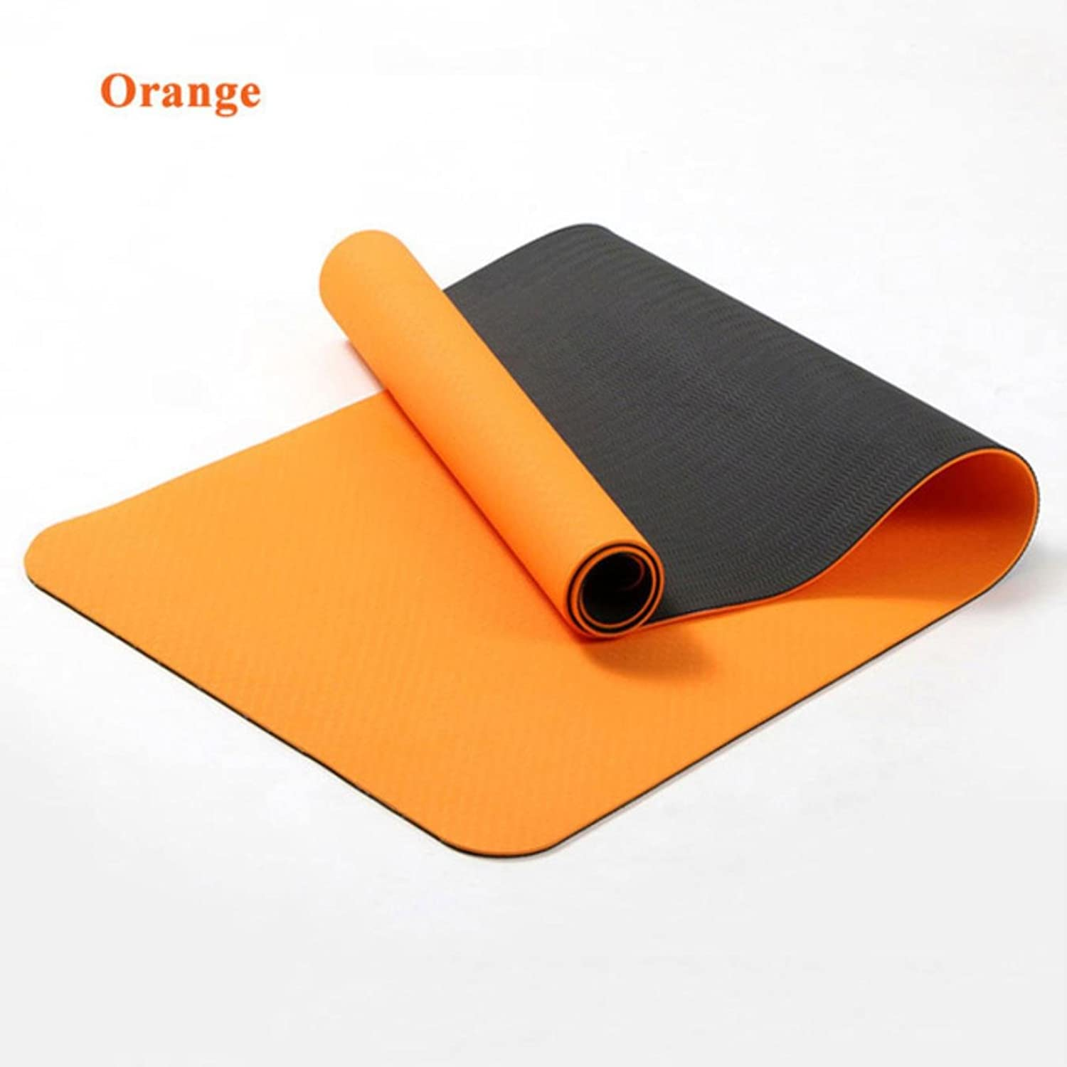 6mm Thick Yoga Mats NonSlip Pilates Mat Gym Cushion Equipment Sport Pad