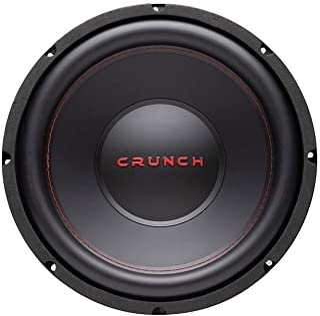 $61 » Crunch CRW12D4 12 Inch 800 Watt MAX 400 Watt RMS 4 Ohm Dual Voice Coil Car Audio Subwoofer Speaker with Spade Terminals fo...