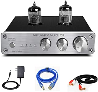 FX AUDIO Tube Preamp TUBE-06 HiFi Home Audio Stereo HiFi 6N3 Vacuum Tube Preamplifier for Home Theater Audio Player System...