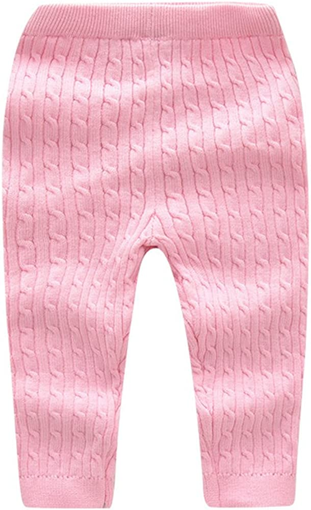 Tortor 1Bacha Kid Boy Girl Solid Cable Knit Underwear Pants