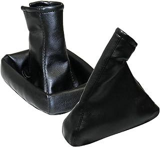 AERZETIX Dehnfalte Schalthebel Handbremse schwarz für Opel Omega B 1994 2002